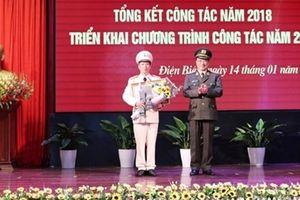 Thứ trưởng Nguyễn Văn Thành dự triển khai công tác năm 2019 của Công an tỉnh Điện Biên