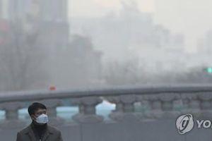 Bầu trời Hàn Quốc mù mịt bụi mịn 4 ngày liên tiếp