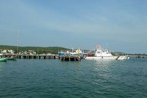 Cứu sống thuyền viên mất tích trong vụ lật sà lan chở gạch trên biển
