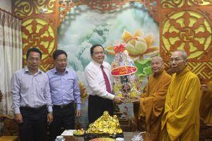 Chủ tịch Trần Thanh Mẫn chúc Tết tại TP Hồ Chí Minh