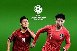 Lịch thi đấu và bảng xếp hạng Asian Cup 2019 ngày 15/1