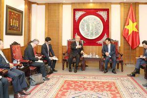 Bộ trưởng Nguyễn Ngọc Thiện tiếp cố vấn đặc biệt Liên minh nghị sĩ hữu nghị Nhật - Việt