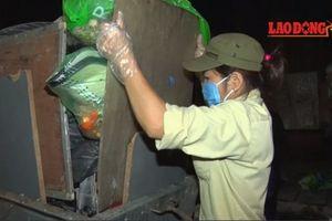 Hà Nội: Dự kiến 5-7 ngày tới mới vận chuyển hết rác ùn ứ trong nội đô