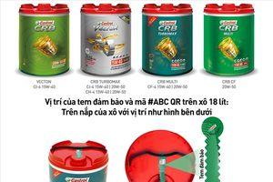 Castrol tiên phong ứng dụng mã #ABC QR - giải pháp xác thực hàng hóa