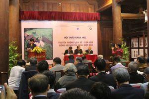 Bảo tồn truyền thống lịch sử, văn hóa dòng họ Nguyễn Cảnh