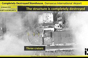 Israel công bố hình ảnh kho vũ khí của Syria trên mạng