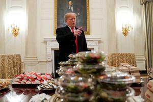 Ông Trump tự đặt thức ăn nhanh đãi khách vì Nhà Trắng thiếu đầu bếp