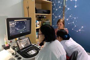 Thành lập trung tâm đào tạo siêu âm tim