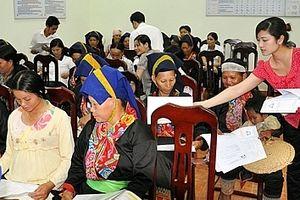 Hỗ trợ hoạt động bình đẳng giới vùng dân tộc thiểu số và miền núi