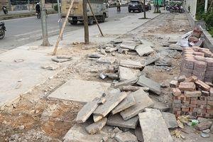 Hà Nội: Dừng cấp phép và thi công đào hè, đường từ ngày 25-1
