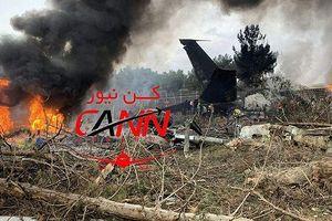 Rơi máy bay chở hàng ở Iran, 15 người thiệt mạng