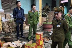 Vận chuyển 200 kg pháo Trung Quốc về Việt Nam tiêu thụ dịp Tết