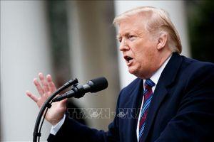 Tổng thống Mỹ khẳng định đàm phán thương mại với Trung Quốc đang 'rất tốt đẹp'