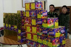 Liên tiếp bắt giữ các vụ vận chuyển pháo lậu tại Cao Bằng