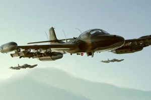 Chiến công đặc biệt của máy bay A-37 trong trận Kong Pong Xom