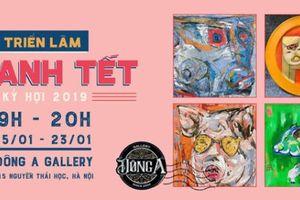 Đặc sắc triển lãm tranh Tết Kỷ Hợi 2019 tại Thủ đô Hà Nội