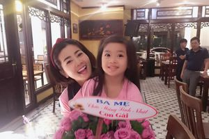 Mai Phương hạnh phúc đón sinh nhật tuổi 34 bên gia đình và con gái