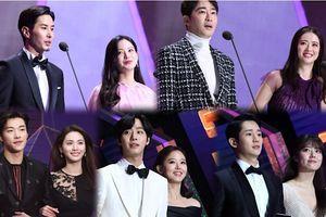 Jung Hae In, Go Ara, Ahn Hyo Seop cùng Nana trao giải cho sao Kpop tại 'Seoul Music Awards 2019'