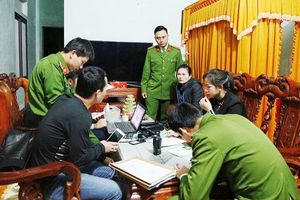 Hà Tĩnh: Triệt phá đường dây lô đề, bắt giữ 8 đối tượng
