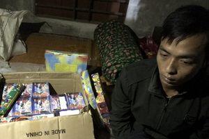 Hà Tĩnh: Khởi tố đối tượng tàng trữ hơn 20 kg pháo trái phép