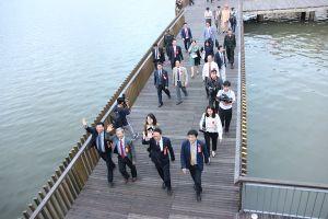 Chính thức khánh thành cầu gỗ lim trên sông Hương