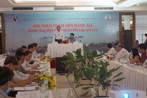 Xem xét tác động của thủy điện Pắc Lay (Lào) đến dòng chảy sông Mê Công