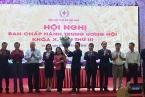 Ông Nguyễn Hải Anh được bầu làm Phó Chủ tịch, Tổng Thư ký Hội Chữ thập đỏ Việt Nam