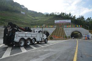 Hầm đèo Cù Mông được đưa vào sử dụng trước Tết Nguyên đán