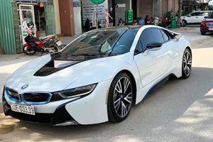 Chiêm ngưỡng BMW i8 biển 'tứ quý' giá hơn 4 tỷ ở Hà Nội