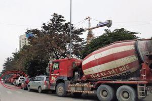 Xe tải, xe bồn 'đại náo' Thủ đô dịp cận Tết: Thanh tra giao thông đường bộ ở đâu khi xe bê tông 'đại náo' phố cấm?