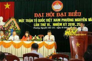 Bình Định: Đại hội điểm MTTQ Việt Nam phường Nguyễn Văn Cừ