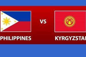 Nhận định Philippines vs Kyrgyzstan Asian Cup 2019 lúc 20h30 ngày 16.1