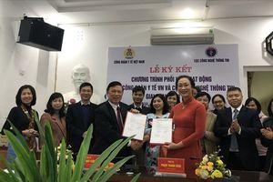CĐ Y tế VN kí kết phối hợp hoạt động với Cục CNTT (Bộ Y tế)