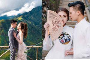 Trọn bộ ảnh cưới xa hoa của đám cưới khủng cô dâu vàng đeo trĩu cổ