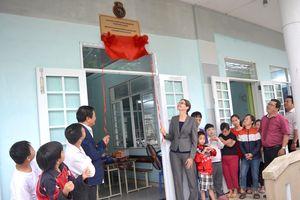 Canada tặng 2 phòng học cho nạn nhân chất độc da cam Đà Nẵng