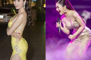 Váy mỏng dính giữa Hà Nội 14 độ của Hương Tràm đẹp nhất tuần