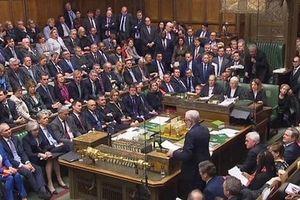 Quốc hội Anh xem xét bỏ phiếu dự thảo trì hoãn Brexit