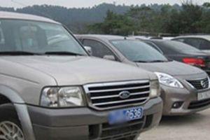 Bộ trưởng, bí thư tỉnh ủy đi xe công không quá 1,1 tỉ đồng/chiếc