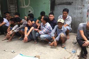 Cảnh sát triệt phá sòng bạc, 10 đối tượng lao xuống sông Đồng Nai trốn thoát
