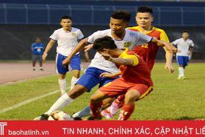 U19 Hồng Lĩnh Hà Tĩnh và U19 Huế chia điểm trong trận đầu ra quân
