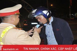 Công an TP Hà Tĩnh mạnh tay xử lý lái xe 'ngấm men', ma túy