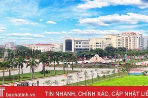 Đến năm 2020, tỷ lệ đô thị hóa Hà Tĩnh đạt từ 30 - 32%
