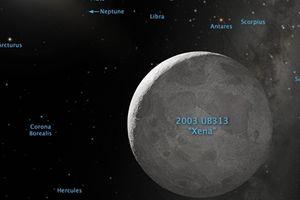 Phát hiện hành tinh lùn Eris
