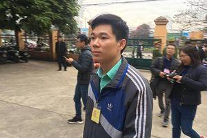 Bị cáo Hoàng Công Lương giữ im lặng ở những nội dung ngoài chuyên môn