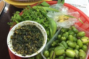 Cách làm bắp cải cuộn nhót xanh chấm chẳm chéo chuẩn vị mà nhanh nhất