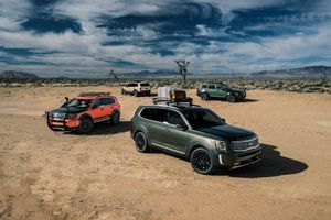 Kia Telluride 2020: Một biến thể của Hyundai Palisade