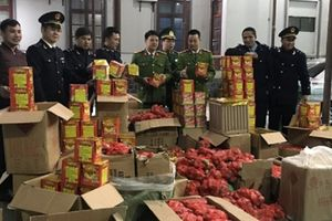 Lạng Sơn: Lực lượng chức năng thu giữ gần 1 tấn pháo bị 'bỏ quên' bên đường