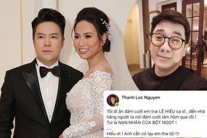 Góc hài hước: Quên bén ngày cưới Lê Hiếu, NSƯT Thành Lộc 'đơn thân độc mã' đến nhà hàng