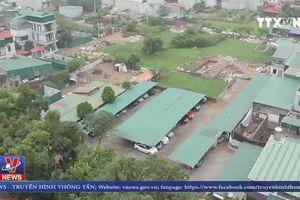 Cơi nới, xây dựng trái phép tràn lan ở phường Định Công dịp cuối năm