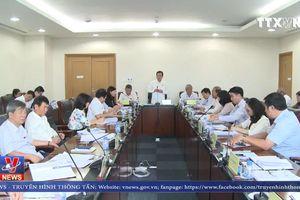 Đoàn giám sát Ủy ban các vấn đề xã hội của Quốc hội làm việc tại Bình Dương